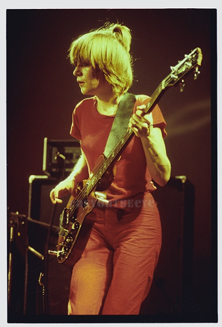 Tina Weymouth, Talking Heads, 1979
