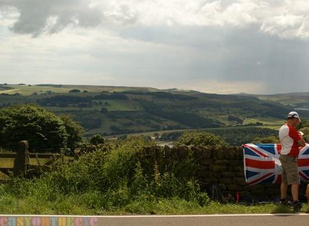 tour de france low bradfield near Sheffield, South Yorkshire